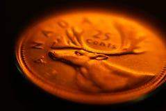 Canadees Kwart Stock Fotografie