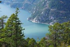 Canadees landschap Stock Foto
