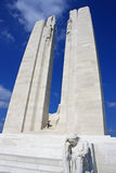 Canadees Nationaal Gedenkteken Vimy Stock Afbeelding