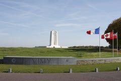Canadees Nationaal Gedenkteken Vimy Royalty-vrije Stock Foto's