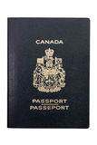 Canadees paspoort stock afbeeldingen