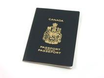 Canadees paspoort royalty-vrije stock afbeeldingen