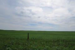 Canadees Prairieslandschap Royalty-vrije Stock Afbeeldingen