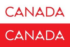 Canadees Type vector illustratie