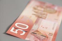 Canadense 50 dólares Imagem de Stock Royalty Free