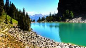 Canadense Montanhas Rochosas e lagos Foto de Stock