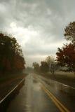 Canadese Autumn Road immagini stock