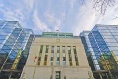 Canadese Bank van Canada, Ottawa Canada Stock Afbeeldingen