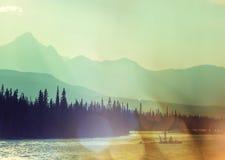 Canadese Bergen Royalty-vrije Stock Fotografie