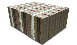 Canadese de Bundelsstapel van Dollarnota's Stock Foto's