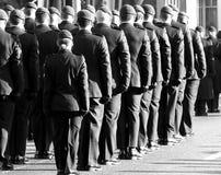 Canadese de Herinneringsdag van Militairin uniform for Stock Afbeelding