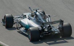 Canadese Gran Prix di Hamilton Wins 2017 immagini stock libere da diritti