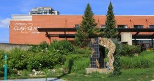 Canadese Klei en Gasgalerij in Waterloo, Canada 4K stock footage