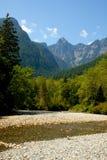 Canadese Montagne Rocciose Fotografia Stock