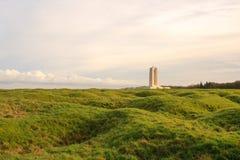 Canadese Nationale Vimy Ridge Memorial in Frankrijk Stock Fotografie