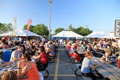 Canadese Rib Fest Royalty-vrije Stock Foto