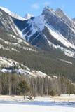 Canadese Rotsachtige Bergen royalty-vrije stock afbeelding