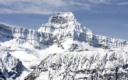 Canadese Rotsachtige Bergen Stock Afbeelding