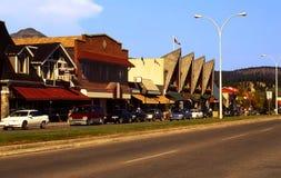 Canadese stad van Jaspis Stock Afbeelding
