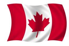 Canadese vlag Royalty-vrije Stock Afbeeldingen