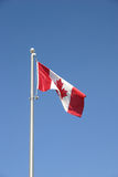 Canadese vlag Stock Foto's