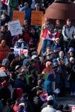 Canadesi per la democrazia Fotografie Stock