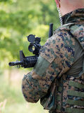 canadiam στρατιώτης Στοκ εικόνα με δικαίωμα ελεύθερης χρήσης