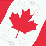 Canadian. Vector illustration of a canadian flag Stock Images