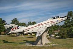 Canadian Air Force Aircraft CF-101 Voodoo Royalty Free Stock Photos
