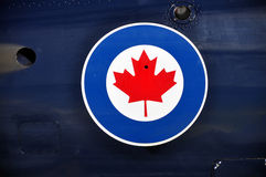 Canadian Air Force symbol Royalty Free Stock Photo