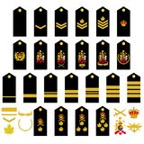 Canadian Army insignia Stock Image