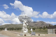 Canadian Astrophysical Observatory. The Dominion Radio Astrophysical Observatory located near Okanagan Falls in British Columbia, Canada Stock Photo