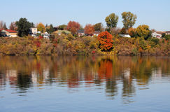 Canadian autumn landscape Royalty Free Stock Images