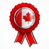 Canadian award ribbon Stock Images