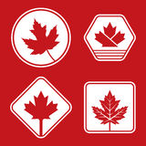 Canadian Badges Stock Images