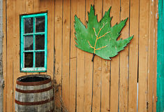 Canadian barn. Stock Images