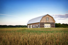 Canadian Barn Stock Image