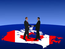 Canadian business men Royalty Free Stock Photography
