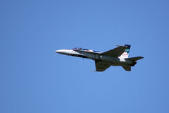 Canadian C-F18 Hornet Royalty Free Stock Images
