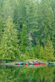 Canadian Canoes Royalty Free Stock Photos