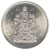 Canadian cents coin Royalty Free Stock Images