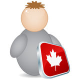 Canadian citizen Royalty Free Stock Images