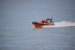 Canadian Coast Guard in Action Stock Photography