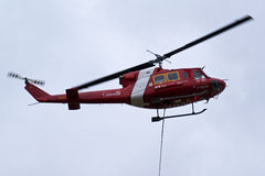 Canadian Coast Guard Bell 212 Helicopter - Fisheries and Oceans Stock Images