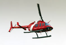 Canadian Coast Guard Helicopter Stock Images