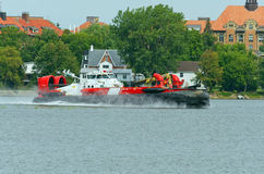Canadian Coast Guard Hovercraft Royalty Free Stock Photography