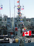 Canadian coastal defence vessels Royalty Free Stock Photo