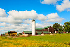 Canadian Country Farm Stock Images