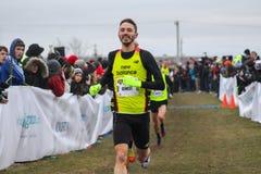 Cross Country Running  Stock Photo
