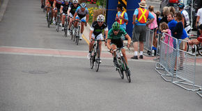 The Canadian Cycling Championships, Georgetown, ON Royalty Free Stock Photos
